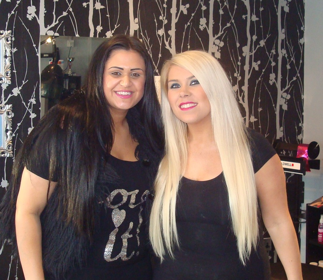 Micro Ring Hair Extensions Home